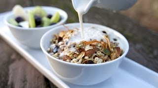 Delicious Homemade Granola  |  Fresh P