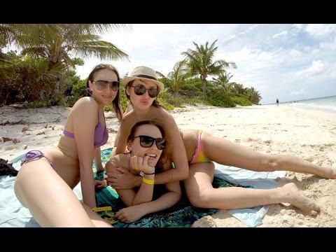 Camping at the Island of Culebra, Puerto Rico 2014 (HD)