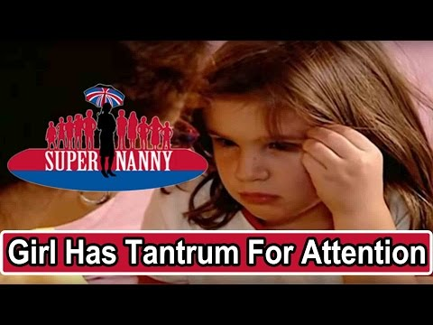 Young Girl Throws Tantrums For Attention | Supernanny thumbnail