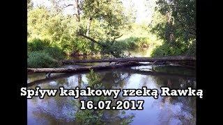 Spływ kajakowy rzeką Rawką