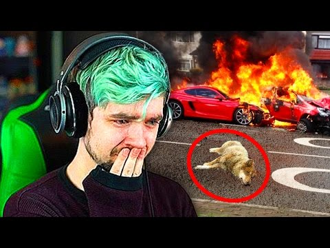 Thumbnail: TOP 10 SADDEST Moments In YouTube Videos! (Jacksepticeye, Roman Atwood, DanTDM, Markiplier)