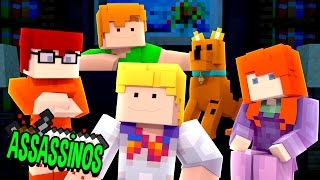 Minecraft: SCOOBY DOO ASSASSINO! (Assassinos)