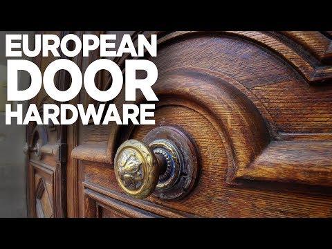 A Love Affair With European Door Hardware