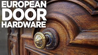 A Love Affair With European Door Hardware