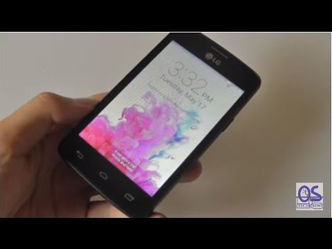 REVIEW: LG Sunrise TracFone Android Smartphone (L15G) - YouTube