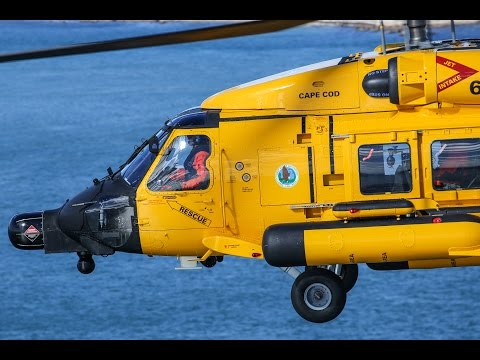 FLYING with the USCG - Air Station Cape Cod