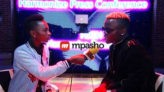 Harmonize responds to Willy Paul's beef controversy