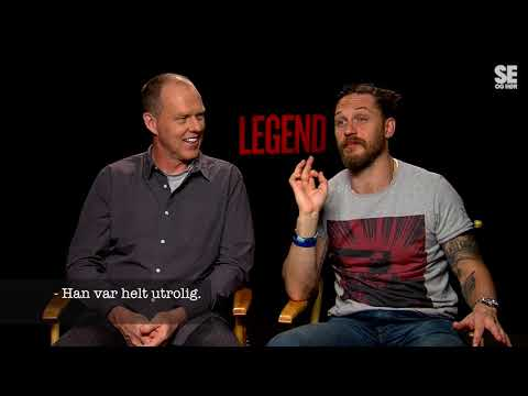 Tom Hardy forteller hvor god Kristoffer Joner er til å kaste med øks