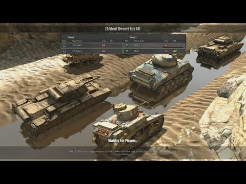 Company of Heroes : Europe at War - Mod - 2vs2 bots (experts) - Map : [Africa] Desert fox