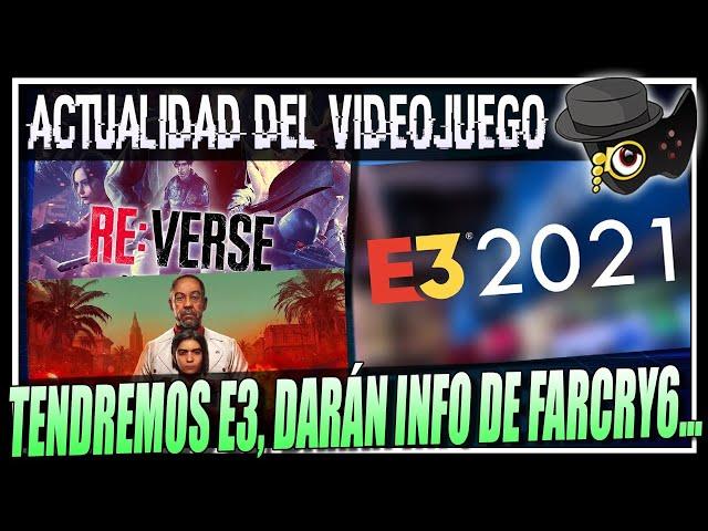 FECHA PARA EL E3-2021, XBOX Y POSIBLE NUEVO EVENTO, RESIDENT EVIL RE:VERSE BETA Y MAS...