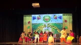 Sankranthi 2018   TSN  Lincoln Telugu Badi - Classroom Skit