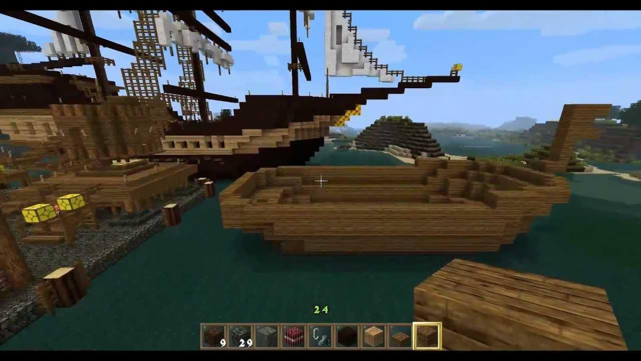 Lets Play Minecraft Together Doch Noch Ein Kleines - Minecraft wikinger hauser