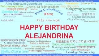 Alejandrina   Languages Idiomas - Happy Birthday