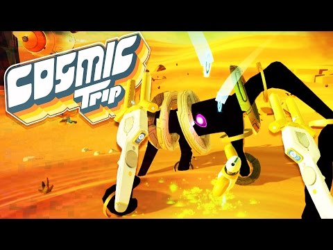 Cosmic Trip Gameplay - Aliens and Robots in VR! - Let's Play Cosmic Trip