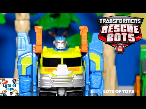 Transformers Rescue Bots Adventures Salvage Garbage