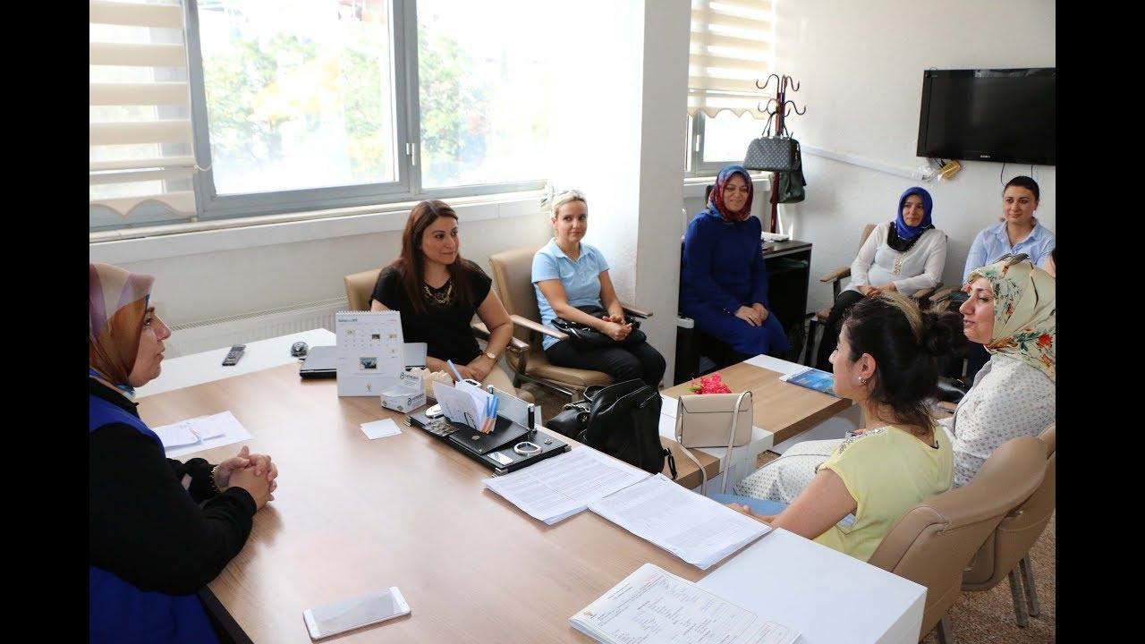 Öz Büro İş Sendikası Kadın Kollarından Teşekkür Ziyareti