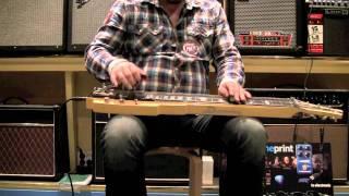 Jonny Musikk - DUESENBERG POMONA 6 LAPSTEEL