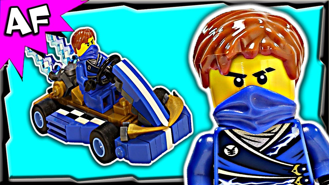 Jay Blue Ninja Go Kart Custom Lego Ninjago Build Review
