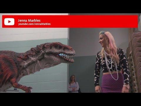 Kojo the Dinosaur at Playlist Live 2014 - feat Jenna Marbles, PVP, Olga Kay