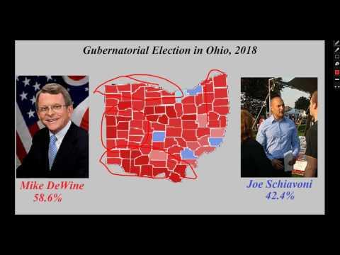 Ohio Gubernatorial Election Prediction, 2018