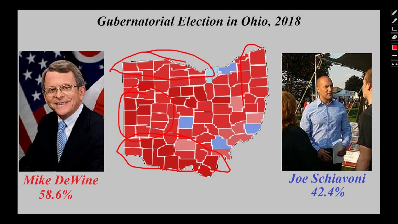 Ohio Gubernatorial Election Prediction, 2018 - YouTube