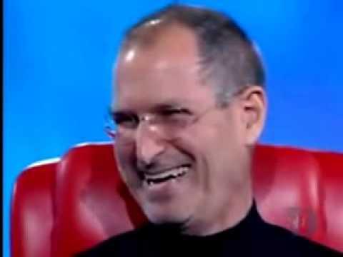 Steve Jobs Funniest Joke. Even Bill Gates Laughs!