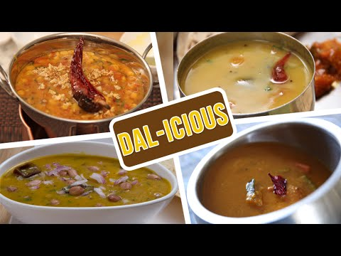 Dal-icious | Collection Of Indian Dal Recipes | Easy To Make Indian Lentil Recipes