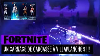 FORTNITE - SAUVER THE WORLD - A CARNAGE OF CARCASSE TO VILLEPLANCHE 9 !!!