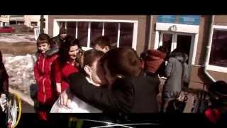 зажигалочка свадьбы в п Новодолинка 7 марта 2015 г