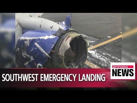 1 dead as Southwest jet makes emergency landing for suspected engine failure