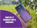 OnePlus 6T Thunder Purple Unboxing and Comparison with Mirror Black