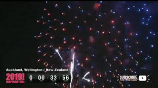 New Zealand welcomes happy new year 2019