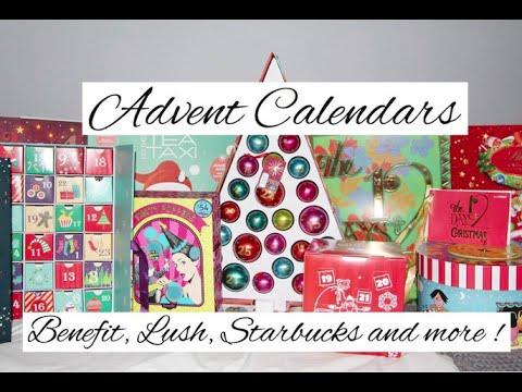 advent calendars benefit lush starbucks davids tea and. Black Bedroom Furniture Sets. Home Design Ideas