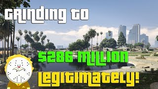 GTA Grinding To $286 Million Legitimately And Helping Subs