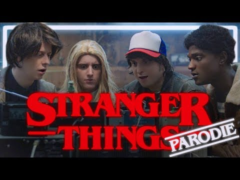 STRANGER THINGS PARODIE