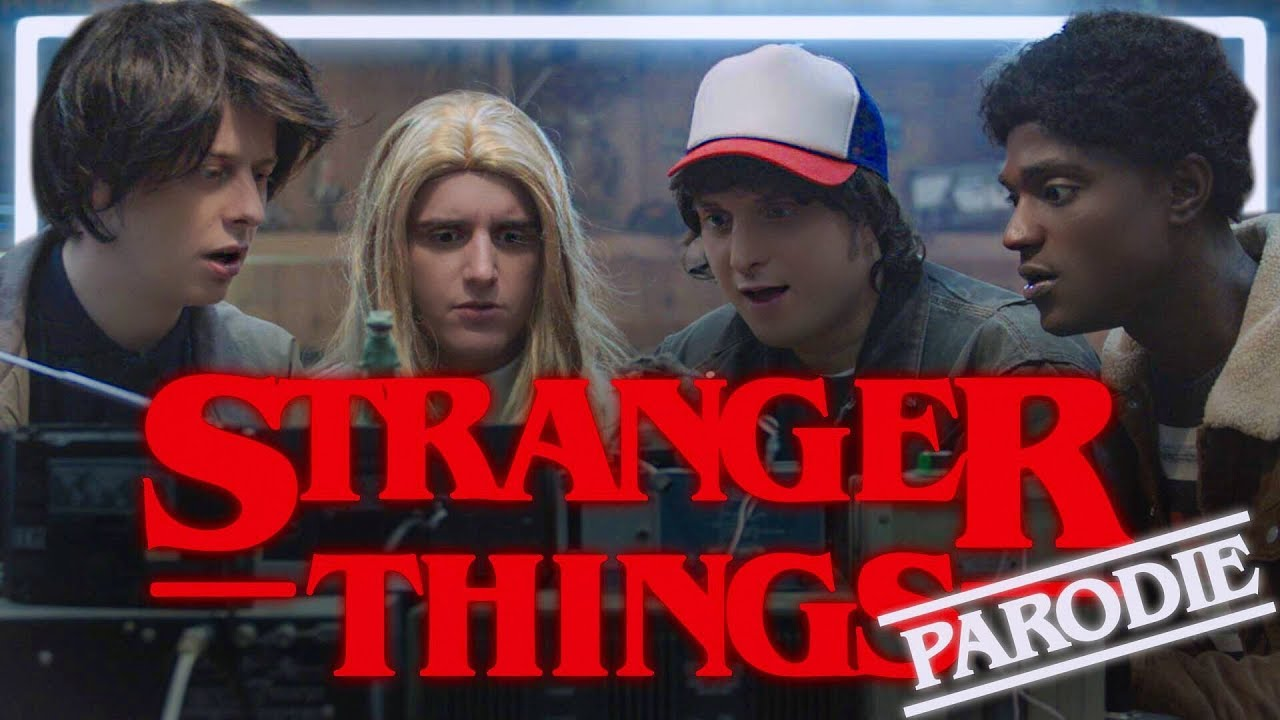 STRANGER THINGS PARODIE – NORMAN