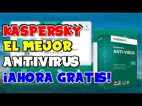 ANTIVIRUS KASPERSKY 2019 - AHORA GRATIS ¡El Mejor!