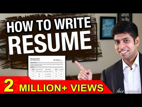 How to write Resume Effectively? : Job Interview Tips in Hindi by Him-eesh