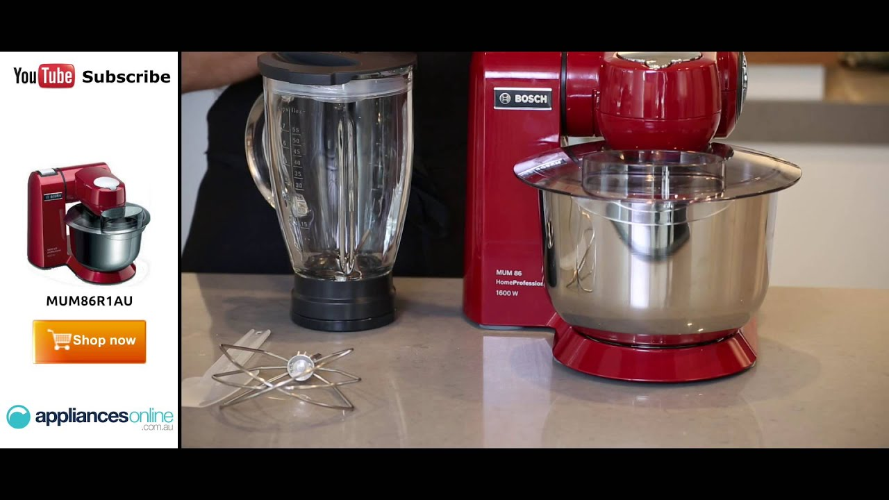 The Mum86r1au Bosch Food Mixer With Seven Speed Settings And Multi