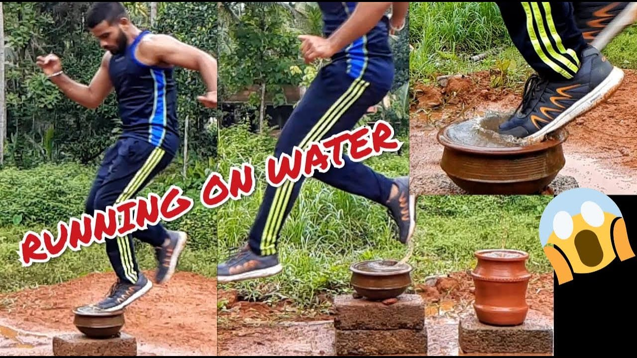 😱RUNNING ON WATER💥TRICK REVEALED💥IS IT POSSIBLE ?