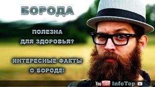 Борода полезна для здоровья? Интересные факты о бороде!