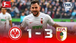 Eintracht Frankfurt - Augsburgo [1-3] | GOLES | Jornada 29 | Bundesliga