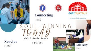 Bible Study with CCAF | Wednesday, April 14, 2021