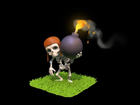 Clash Of Clans Wall Breaker Attack