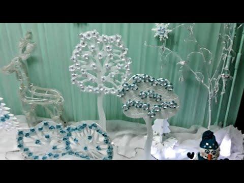 Декоративное дерево своими руками 🎀 Идеи оформления дома. Мастер-класс. DIY Decorative home ideas