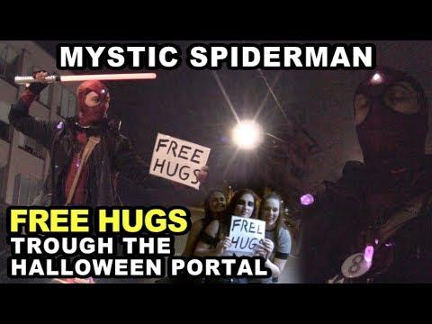 Mystic Spiderman: Free Hugs Through the Halloween Portal