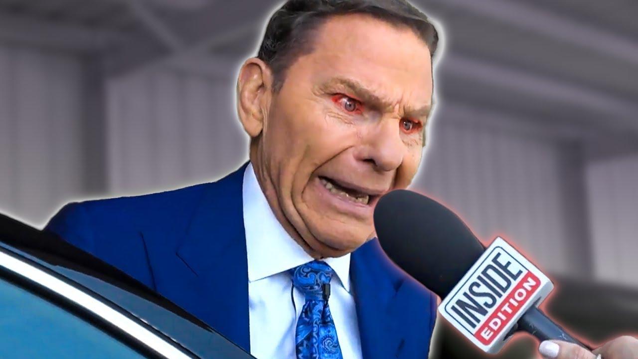 Billionaire Preacher Ambushed With Surprise Interview