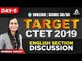 CTET 2018 | English Section Discussion | Part 1 | Nimisha Ma'am | 3:00 PM