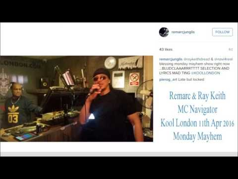 Remarc & Ray Keith with MC Navigator - Kool London 11.04.16