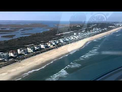 Pine Island Aerial View Outer Banks, NC